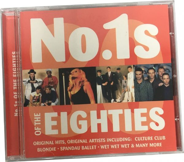 NO.1s OF THE EIGHTIES ( CD 2001) USED